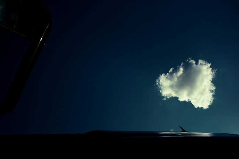 Lonely - A lonely cloud, skies of Serbia