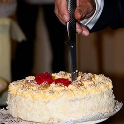 Het mes erin voor de taart