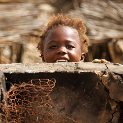 Little girl smile