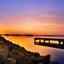 Zonsondergang schildmeer