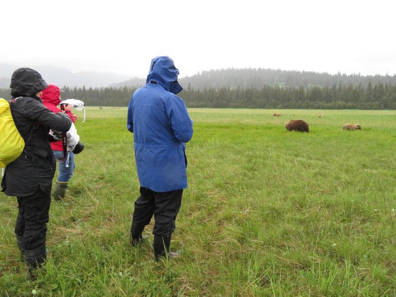 Lake Clark National Park, Alaska - Zo dicht bij de beren; geweldig!