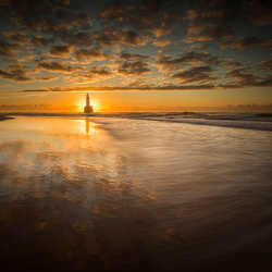 Sunrise lighthouse