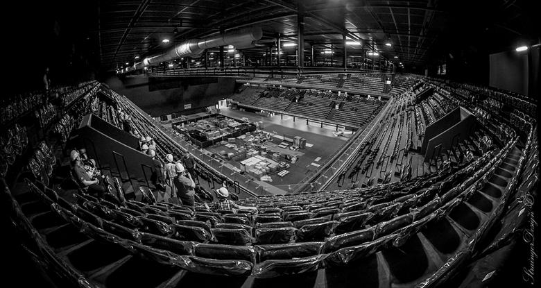 Ziggo Dome - Afgelopen zaterdag even in Ziggo Dome geweest om foto's te maken voor het werk...Leuke kans om m'n nieuwe fisheye lens te teste