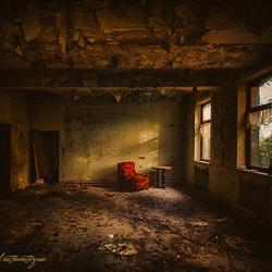 verlaten plaats ...