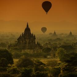 Zonsopgang Myanmar