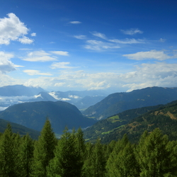 Karinthië landschap