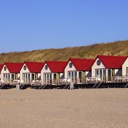 Strandhuisjes Domburg