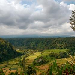 Lereng Augung in Indonesie