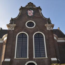 De grote kerk in Westzaan-Noord