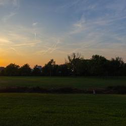 Zonsondergang in Caorle