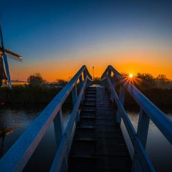 Bridge in the morning sun