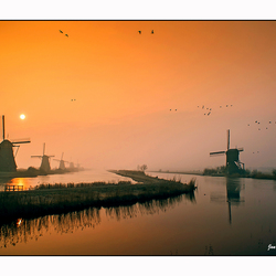 Sunrise Kinderdijk (5)