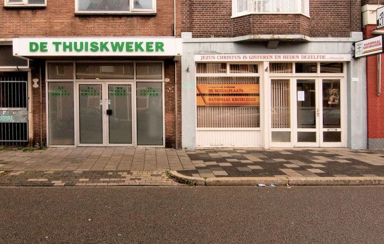 Verbroedering - Een wandeling in Groningen leverde dit hilarische tafereel op.<br /> Vond het zelf uitermate komisch.