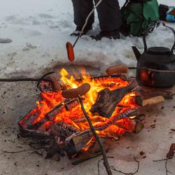 Vuur op ijs