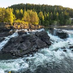 noorwegen waterval Leira 1