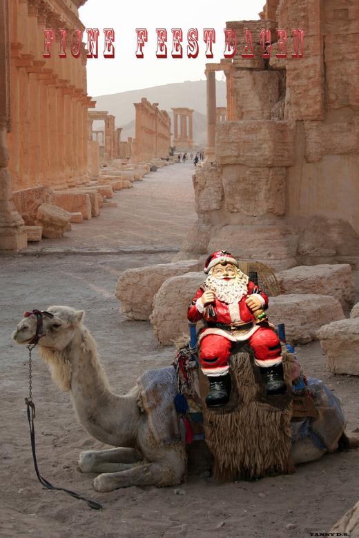 Kerstgroet - Iedereen fijne Feestdagen en de beste wensen voor 2014<br /> <br /> <br /> <br /> Palmyra-- Syrië..!!!!<br /> <br />