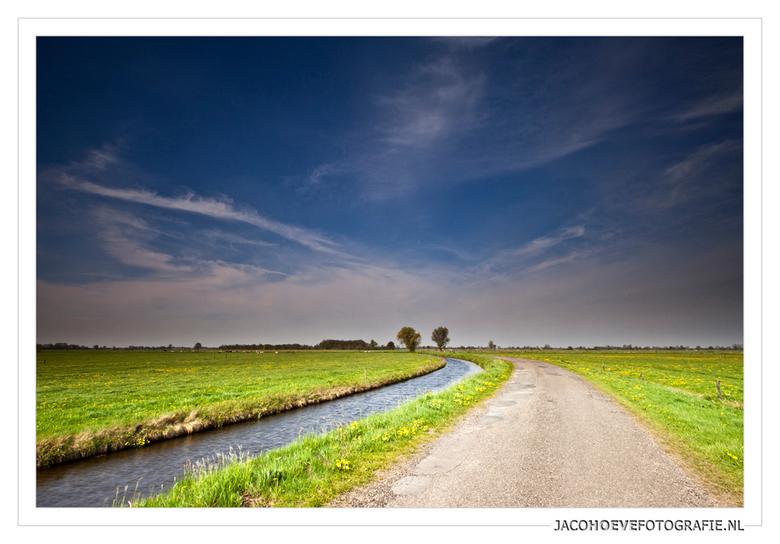 Landschap Rouveen - Genomen op 8 mei 2013 in Rouveen (overijssel)