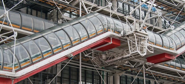 Parijs - Centre Georges Pompidou in Parijs