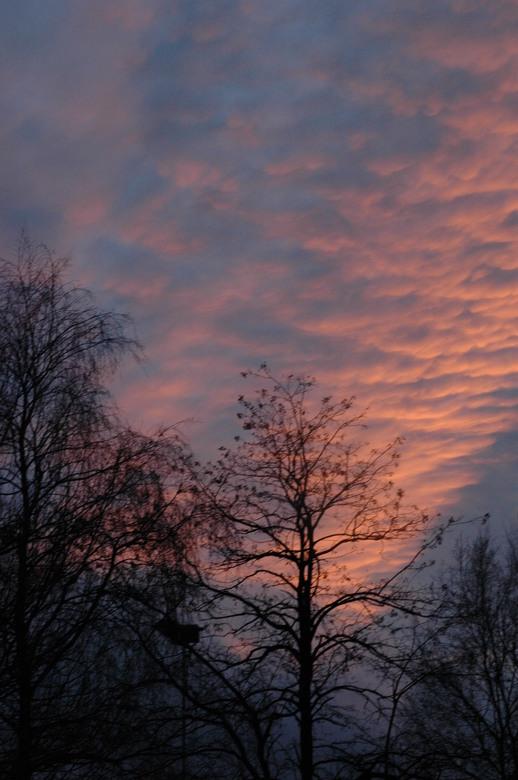 Kleurige wolken