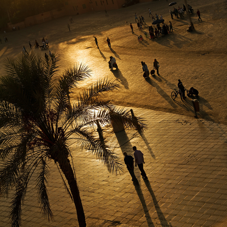 Marokko 2 - Marrakesh, Djemaa el Fna