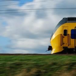 volg de trein