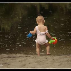 Naar het water