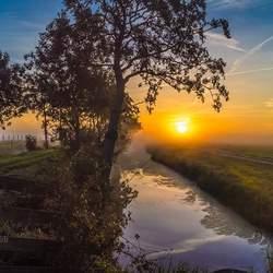 Mooie herfst ochtend