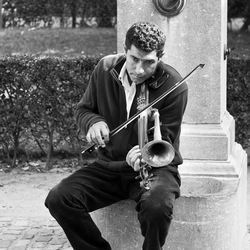 Straatmuziekant Brugge
