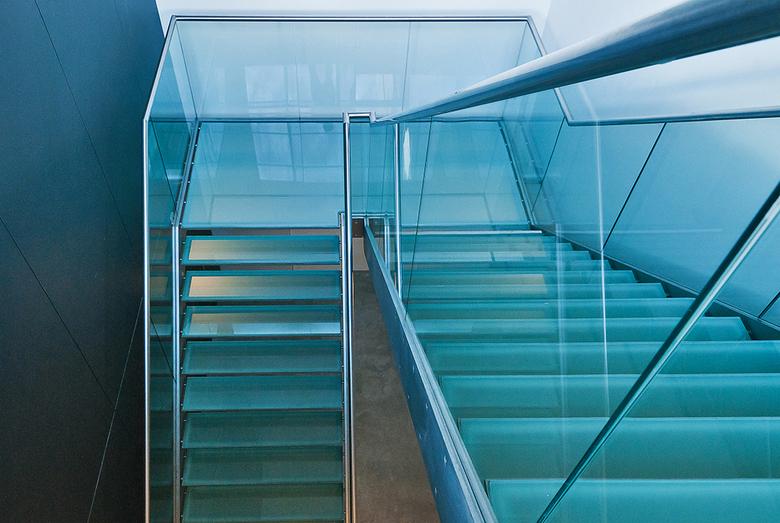 Moti museum-6 - Nog een trap in het museum.