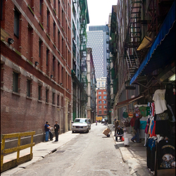 Just another NY alley