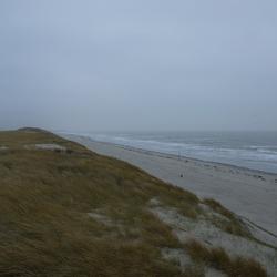 Niemand op het strand