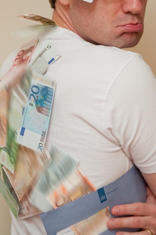 geld op je rug..