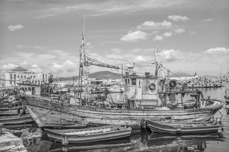 vissers dorp marokko - een klein vissersdorpje in Marokko...