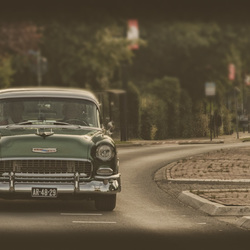 Classic-car - Chevrolet Belair 1955