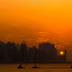 Hong Kong Island Sunset