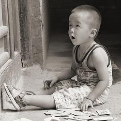 jongentje in China