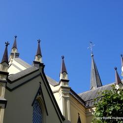 dak van de hervormde kerk Neerijnen
