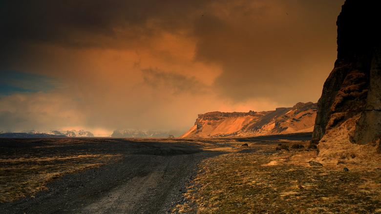 Frozen in Time - 2 weken geleden genomen bij Stokkness IJsland.<br /> Impressie van een bijna buitenaards landschap.