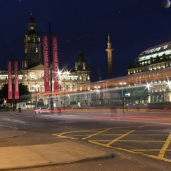 Georgesquare by night