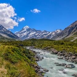 Mt Cook, Nieuw Zeeland