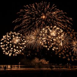 Finale vuurwerkfestival Scheveningen