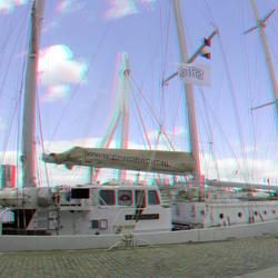 Zeilboot Eendracht Rotterdam 3D GoPro