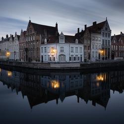 Brugge by Night - Spiegelrei