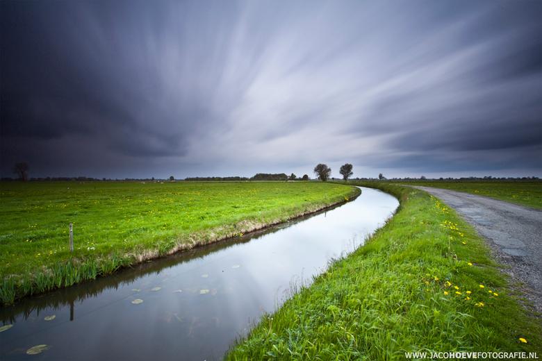 Landschap Rouveen (Overijssel) - Genomen op 14 mei 2013
