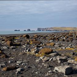 Strand van Reynisfjara, zuid IJsland