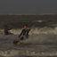 Kite-surfen.