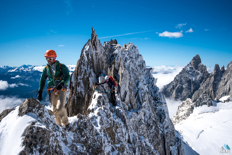 On top of the world -