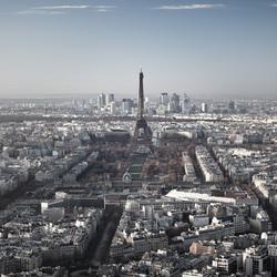 Uitzicht Parijs Tour Montparnasse