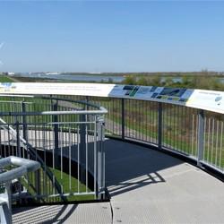 P1480614 Rozenburg Landtong UITkijk toren 18april 2018
