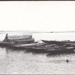 Vissen en zwemmen in de Ganges